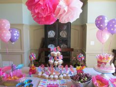 My Little Pony Birthday Party -  Creations by Mhari on facebook