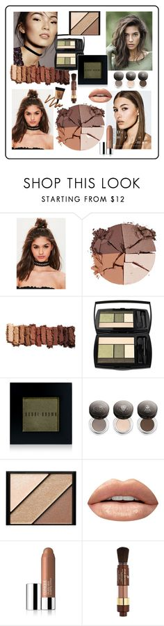 """""""Beauty_trend_2017 october_Nadi777"""" by nadiseven on Polyvore featuring косметика, Missguided, lilah b., Urban Decay, Lancôme, Bobbi Brown Cosmetics, Chantecaille, Elizabeth Arden, Huda Beauty и Clinique"""