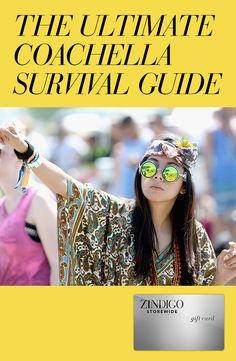Coachella season is upon us and Jenny Bahn has given us some practical tips to pack for the road trip to the yearly music festival. Use code SURCOACH for $70 off a $200 purchase, valid 4/15-4/22