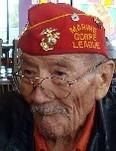 Allen Dale June (1919 - September 8, 2010) was one of the 29 original Navajo Code Talkers who confounded the Japanese during World War II by transmitting messages in their native language. He was a sergeant in the Marine Corps and served in the Pacific Theater. He joined the Corps when he was 16 telling a recruiter he was older than he was.