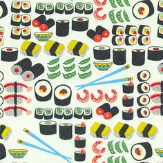 Sushi Delicacies - White