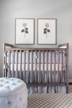 Nursery by Kylie Frierson Interiors.