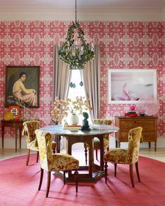 susan hable smith's gorgeous dining room. via @sfgirlbybay / victoria smith