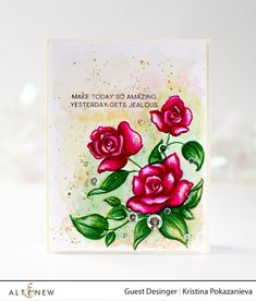 Hello everyone! Well do we have a treat for you today, we have the lovely Kristina Pokazanieva sharing some amazingly beautiful projects. Hello everyone! I'm Kristina Pokazanieva from Russia. I live in Saint-Petersburg with my lovely family and two adorable yorkie puppies. My first experience in cardmaking was 2015, when I made a card for my …
