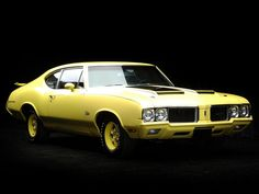 muscle cars | CarDomain Obscure Muscle Car parking Lot: The 1970 Oldsmobile Rallye ...