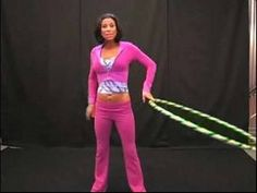 Love hooping. This video has a few simple yet impressive tips and tricks.