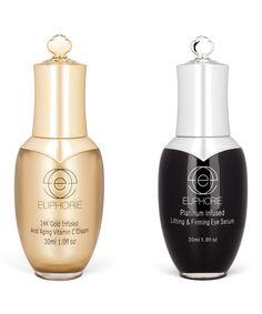 24k Gold Infused Face Cream & Platinum Infused Eye Serum