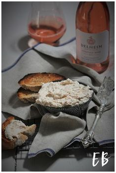 Another truly South African recipe that calls out for a truly South African wine cultivar Pinotage! We are entering summer and what better way to celebrate great weather with friends than a lovely paté and toasted bread while waiting for the braai. Delheim's Pinotage Rose 2017 calls out for this smoked snoek pate. With concentrated cranberry