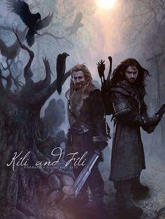 Gah, it's 'Fili & Kili'! That's like saying 'Dean and Sam'!