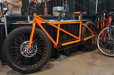 Santana Cirque fat bike tandem prototype mountain bike