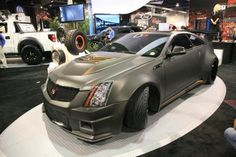 D3 Cadillac Le Monstre CTS-V Coupe: 1001 HP. Love the finish!