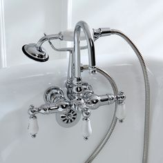 Randolph Morris Clawfoot Tub and Shower Package 54 inch Cast