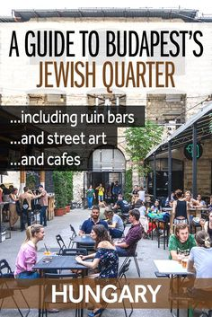 The coolest district in Budapest is the Jewish Quarter and it has some of the best things to see in the city. Here's my guide to Budapest's Jewish Quarter, with the best ruins bars, the coolest street art, and the hippest cafes. It's perfect if you're planning some travel in Hungary.