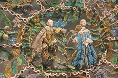 English beadwork - 17th century