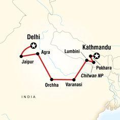 GEEO's India & Nepal program - July 21- August 5, 2014
