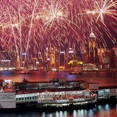 CHINESE NEW YEAR in Hong Kong.