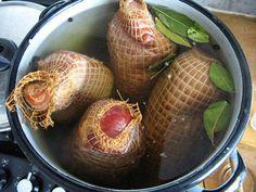 miesoparzone Kielbasa, Polish Recipes, Smoking Meat, Charcuterie, Baked Potato, Carne, Onion, Sausage, Grilling