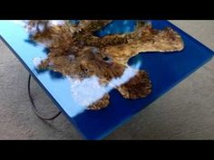 Walnut Resin Wall Clock - First Resin project in new shop :) - YouTube
