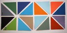 Back in July Jessica Jones of How About Orange posted about using paint chips to make art . There are many versions of paint chip wall art ...