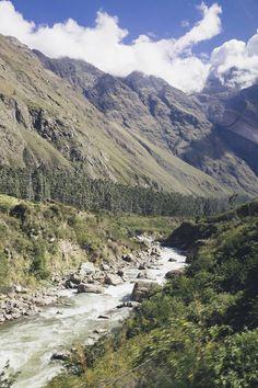 Sacred Valley of the Incas, Cuzco, Peru -  Urubamba river. http://www.miviajedepromocion.com/