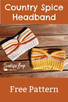 Crochet Fall, Free Crochet, Crochet Ear Warmer Pattern, Braided T Shirts, Make And Do Crew, I Love This Yarn, Headband Pattern, Crochet Patterns For Beginners, Crochet Videos