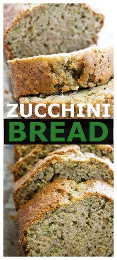 Pumpkin Zucchini Cake, Lemon Zucchini Cakes, Best Zucchini Bread, Zucchini Bread Recipes, Loaf Recipes, Delicious Breakfast Recipes, Delicious Desserts, Bakery Recipes, Cooking Recipes