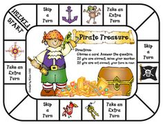 """Pirate Treasure"" game"