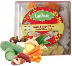 Mứt thập cẩm Candied Fruit, Cheese, Food, Meal, Essen, Hoods, Meals, Eten