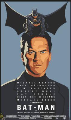 bat man / birdman poster