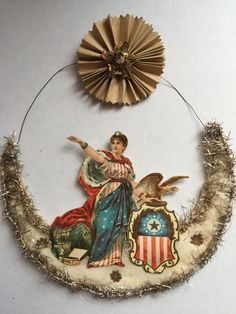 Antique Victorian Christmas Ornament