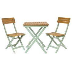 Bentley Garden National Trust 2 Seater FSC® Certified Wooden Garden Bistro Set - Green