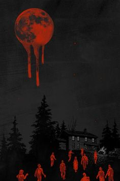 Blood moon and zombies