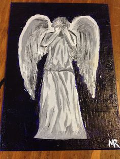 Weeping Angel. This is part of my Doctor Who villains series.