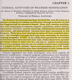 You Don't Believe Government's Involvement in Weather Modification? This Senate Document Will Change That