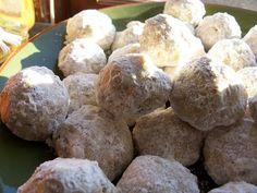 ... Shit: Snowballs (Aka. Mexican Wedding Cookies, Aka. Russian Tea Cakes