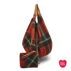 Le CHIC Réversible Boho Wool Red - Chic Sympathique