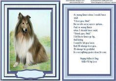 Topper With incert and Verse A Mans Best Friend  on Craftsuprint - Add To Basket!