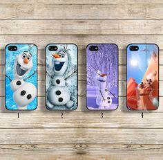 Disney phone case Disney frozen case Disney Olaf case Olaf iphone case for iphone4/4s iphone5/5s