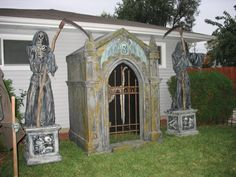 Incredible crypt facade .awesome for the front door entrance.