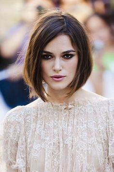 "Keira Knightley has had long hair, short hair, and every style in between. Her hair evolution shows just how versatile fine hair can be. ""Women with fine hair can try any style if the cut is done right,"" McGill says. ""I recommend a style with volume. Boost powders are my favorite products for keeping backcombing in all day with no stress about hair falling."""