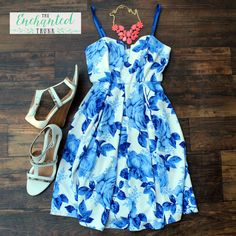 Blue Roses - The Memphis Dress $30