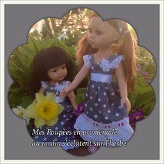 Petites robes pour une sortie au jardin