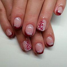 #notpolish #nails #nailart #fashion #naildesign #nails2016 #crystalnails #nailstagram #crystalnailsnailart #budapest #instanails #instagood #nagel #naildecor #instadaily #ikozosseg #nailoftheday #nails2inspire #köröm #műköröm #handpainted #likeforlike #gellak #körömdíszítés #dailynailart #like4like #like #frenchnails #squareshape #winered