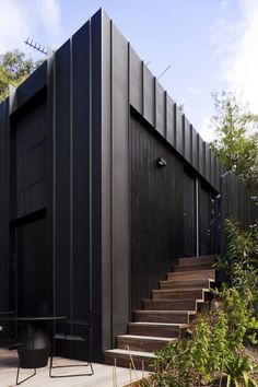 19 Ideas Exterior Cladding Modern Black House For 2019 Architecture Durable, Houses Architecture, Residential Architecture, Architecture Design, Black Architecture, Seattle Architecture, Computer Architecture, Installation Architecture, External Cladding