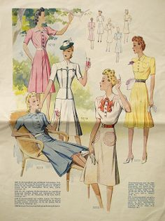 Oh, how very chic they all make summertime look.