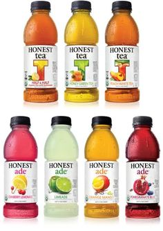 Honest Tea- I LOVE THIS NATURAL AND ORGANIC(and perfect for diabetes because it is not full of extra carbs)