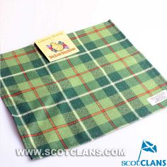 Clan Galloway Tartan Handkerchief