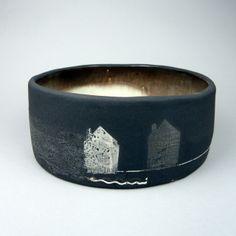 Julia Smith ceramics, abstract pottery