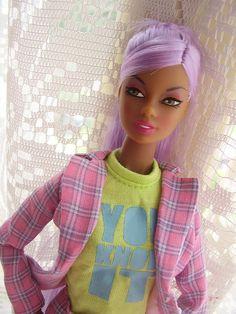 Barbie .... The jacket is sssooo cute & retro!!!