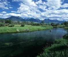 Go head-to-head with wily trout in some of America's best fly-fishing streams. Go with: Sweetwater Travel Company, founded by three brothers who grew up in Montana; it excels at guiding first-time fly-fishing anglers.